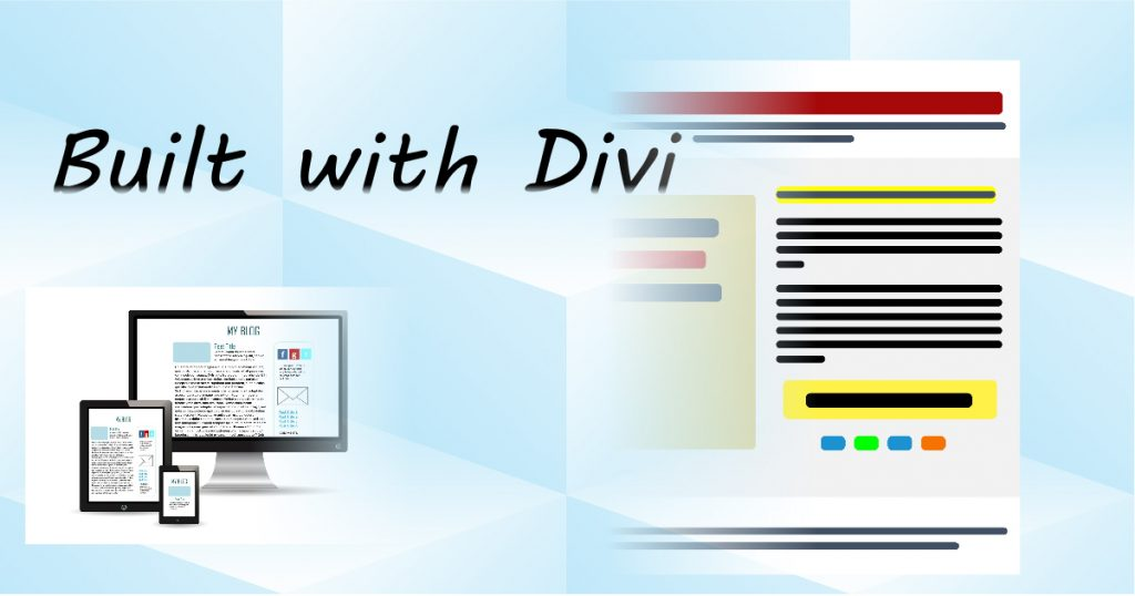 Built with Divi