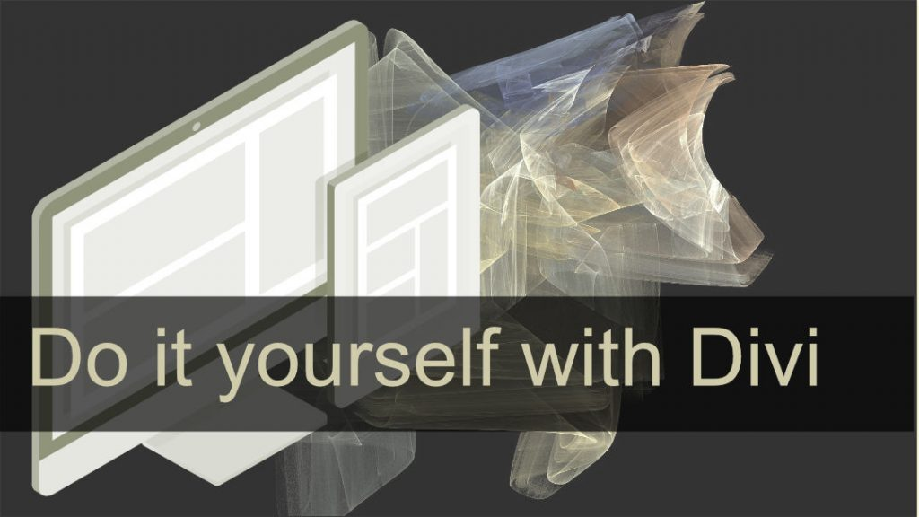 do it yourself with divi